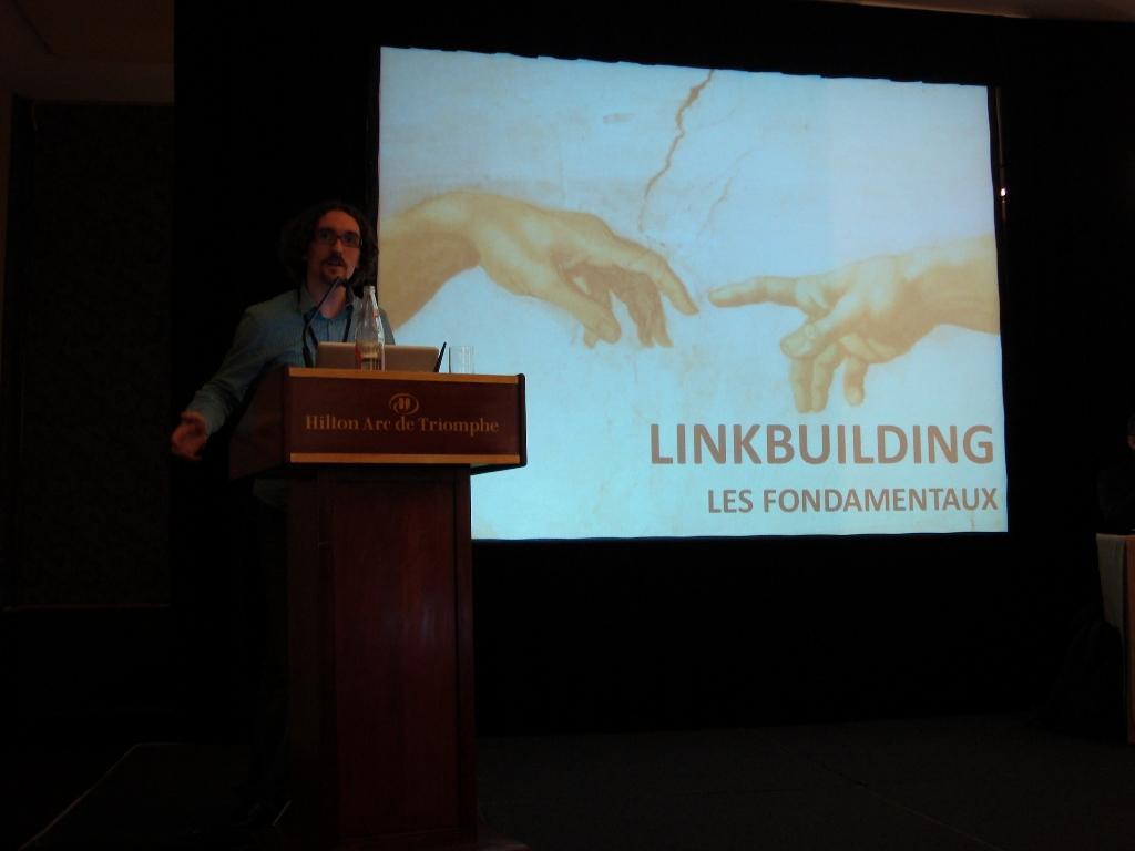 eMetrics & SMX Paris 2010 : Alexandre Villeneuve présente les fondamentaux du linkbuilding