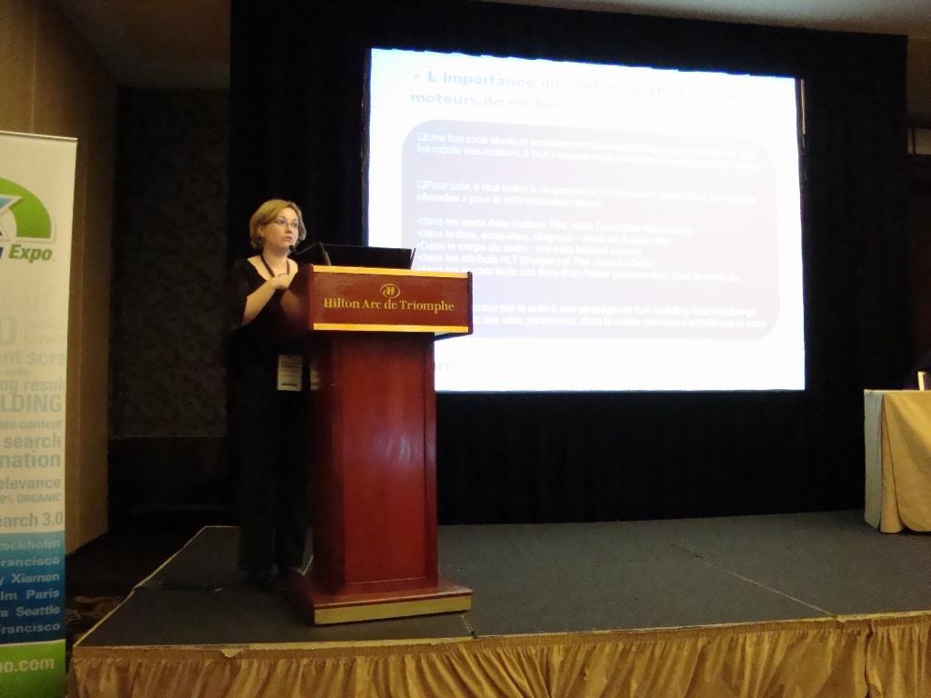 eMetrics & SMX Stefania Cornelia Marinescu présente Quelle rédaction pour une meilleure SEO ?